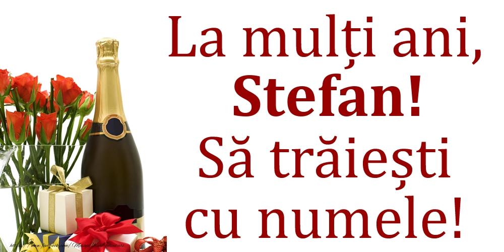 La mulți ani, Stefan! Să trăiești cu numele! - Felicitari onomastice